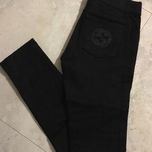 Gucci— Denim pants black